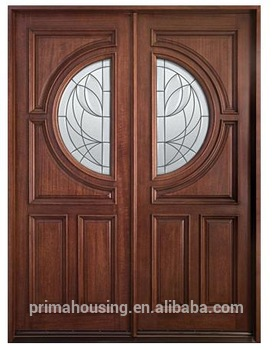 China Exterior Wooden Door Main Entrance Door Design Modern House