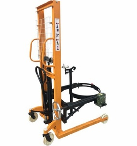 Hot sale handing oil drum truck trolley manual lifter