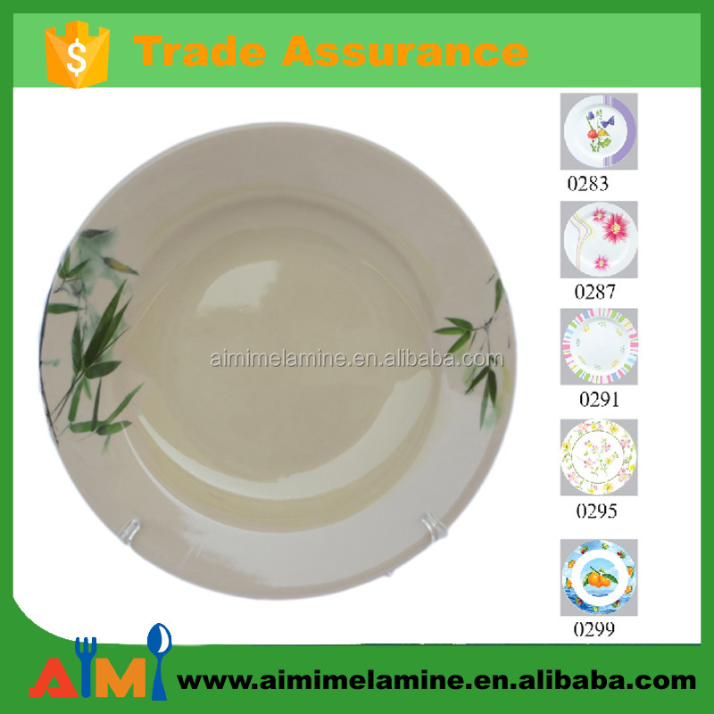 8 inch 9 inch Melamine deep <strong>plate</strong>