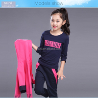 Online Wholesale Winter Child Clothing Kids hoodies+shirt+pant three pieces Sportswear Set For Children