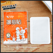 New general style white self heating body warmers for cold winter