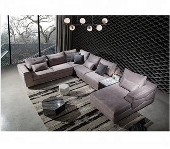 Luxury Latest Design Modern Sectional Sofa Living Room Furniture ...