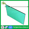 french colored bulletproof double layer 0.5mm GE best price uv coating solar pc transparent roofing sheet for mini greenhouse