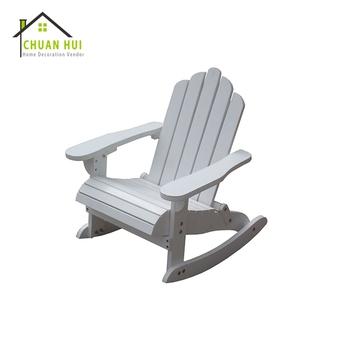 Outdoor Kid Adirondack Rocking Chair Wood Garden Adirondack Chair