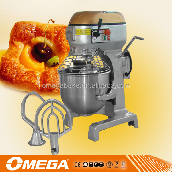 China supplier commercial planetary mixer/cake kneading machine