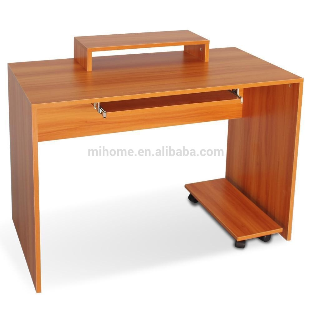Modern Melamine Pb Wooden Computer Desk/pc Table - Buy