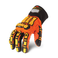 KRSC Custom Antivibration Oil Resistance Pvc Gloves For Mechanics Work