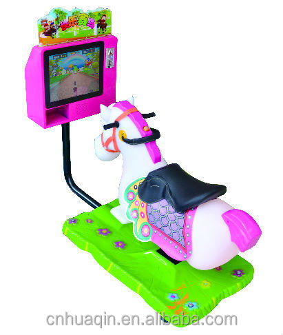 Mini crazy horse kiddie rides coin operated game machine from Guangzhou