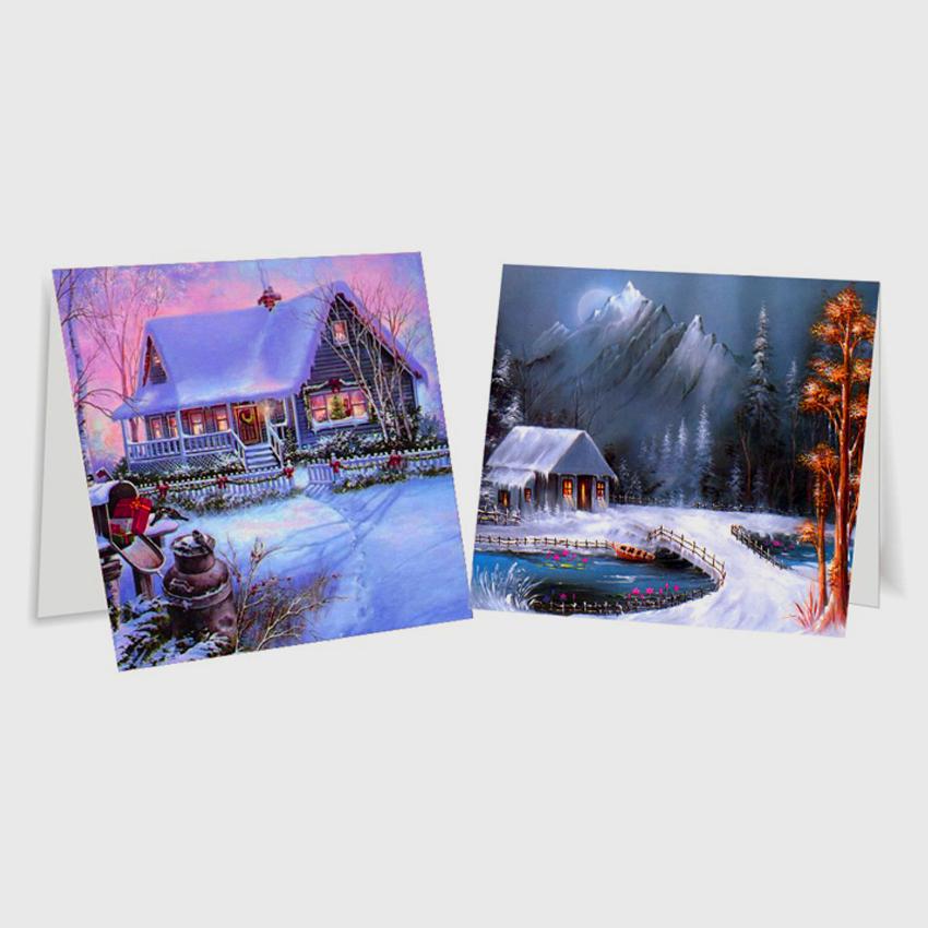Картинки, тематическая лентикулярная открытка
