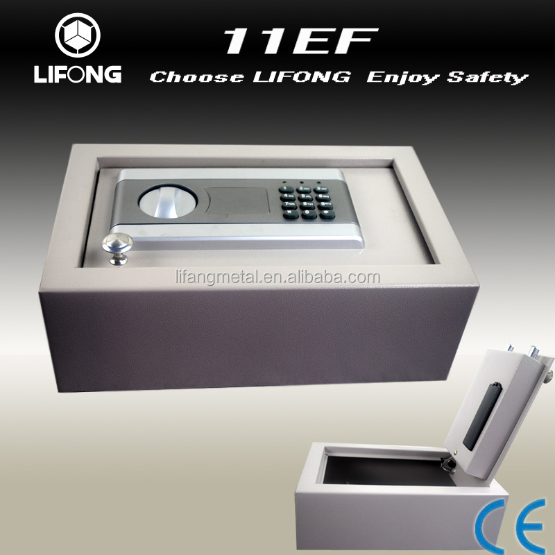 New design digital top open safe,floor hidden safe