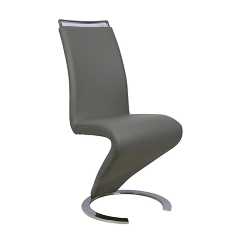 2016 neue stil elegante z form pu-leder esszimmerstuhl-essstuhl, Esszimmer dekoo