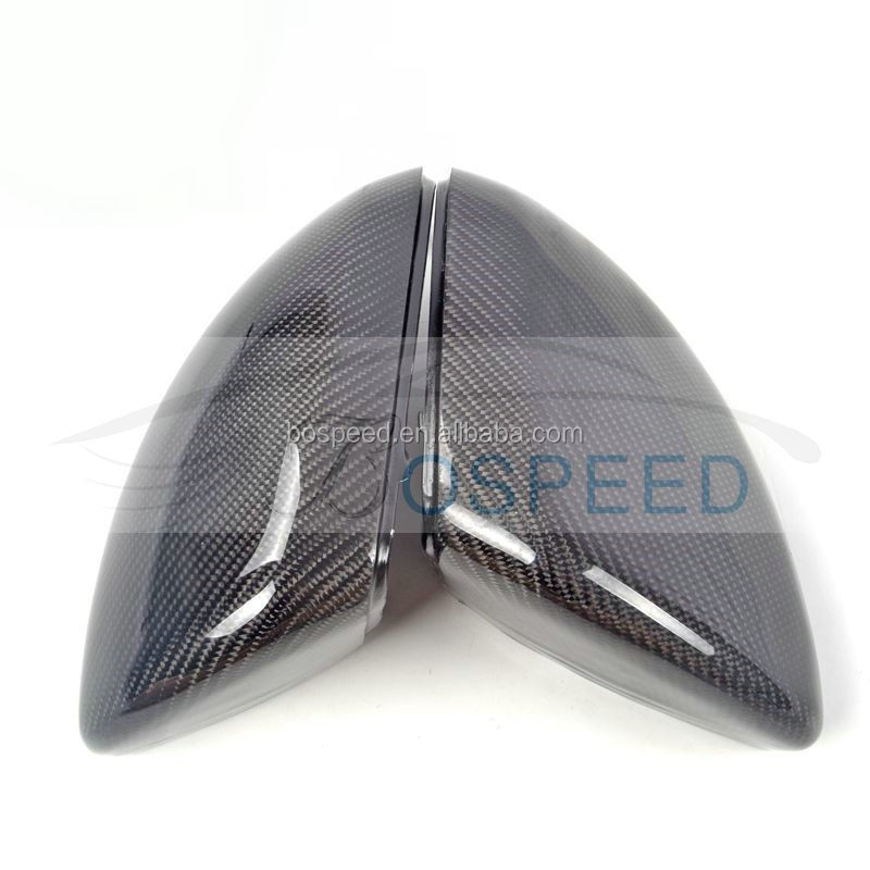 Carbon Fiber Rear View Side Mirror Cover for Benz W205