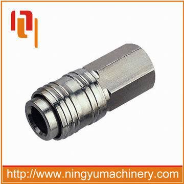 Euro-universal Type stainless steel pipe quick coupler