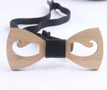 Helisopus 2020 новый деревянный галстук-бабочка для мужчин полые бамбуковые деревянные шеи одежда Мужская одежда для отдыха свадебное платье акс...(Китай)