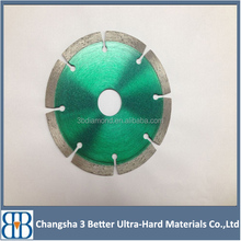 5 Inch sintered turbo diamond saw blade for cutting Granite, Concrete, Tile