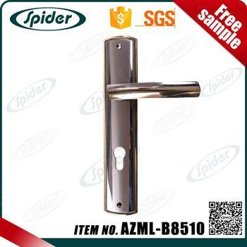 Zinc Alloy Lever Classic Long Plate Door Handle - Buy Door Handle ...