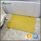 large square yellow pvc non slip bath tub mat for shower stall