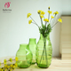 Wholesale glass vases bud vase cheap tall glass vases