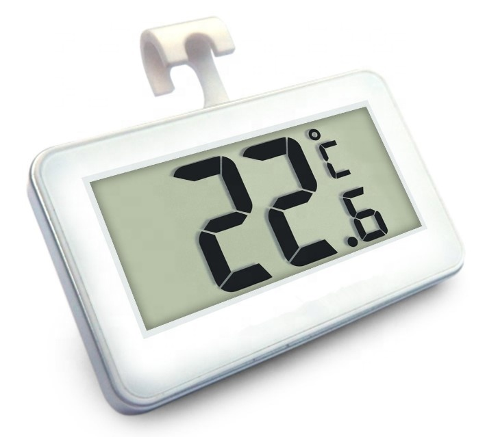 Digitale Ingebed stijl Mini Ronde Hygrometer Thermo Hygrometer