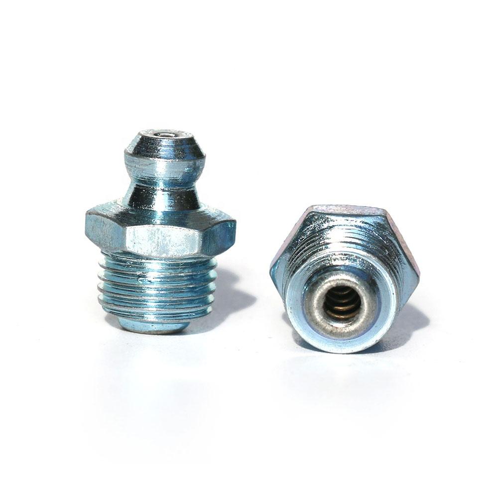 1//4 Mild Steel STRAIGHT GREASE NIPPLE UNF PACK OF 5