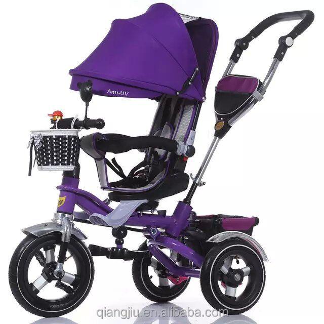 4 in 1 bambino triciclo/3 ruote ride on/manuale triciclo per bambini/bambino passeggino-Meacool marca-xingjiu CO