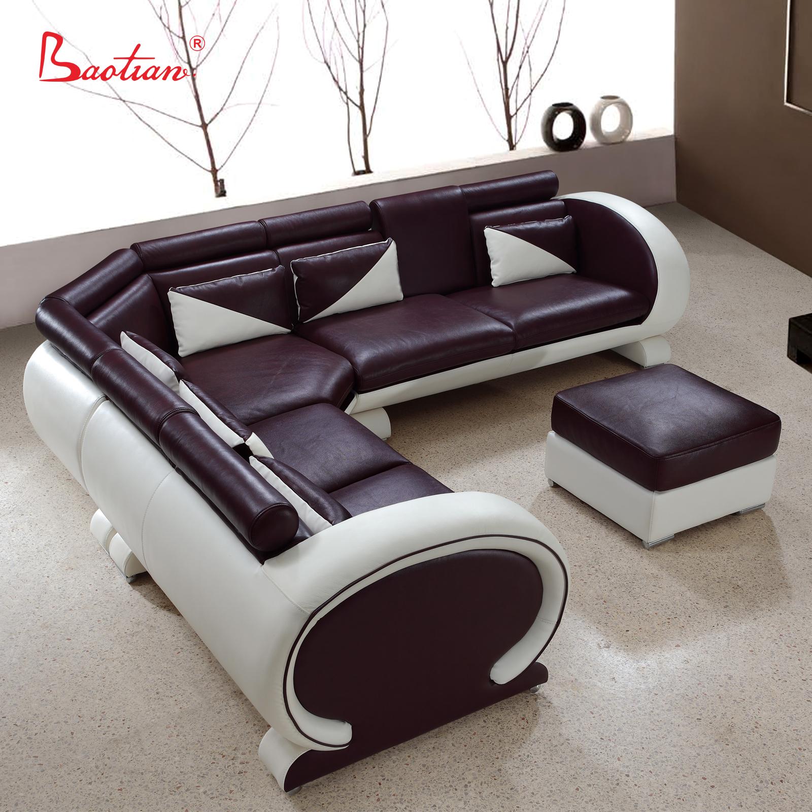 Exclusive Design U Shaped Leather Sofa
