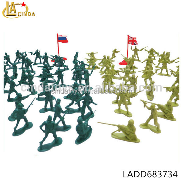 Tens of thousand of soldiers classic toy soft pvc injection movie action figures two armies