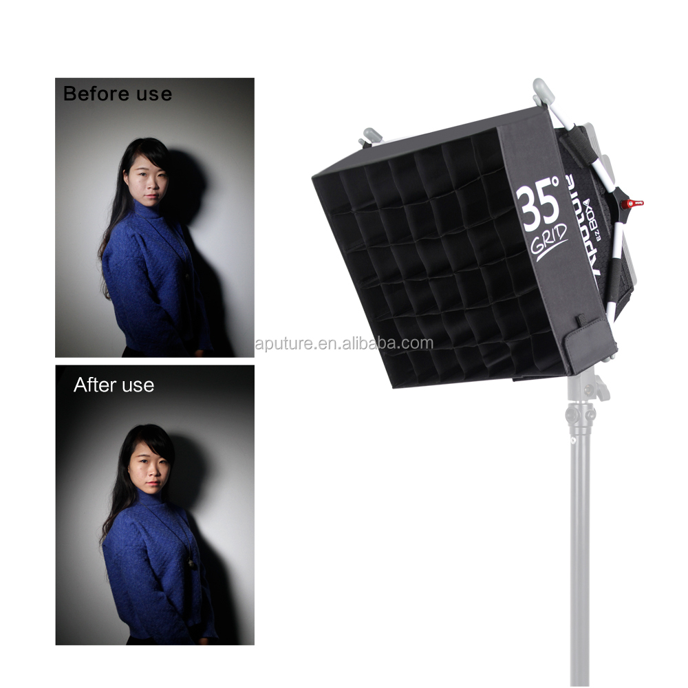 Aputure photography light box, soft box kit, photo light box