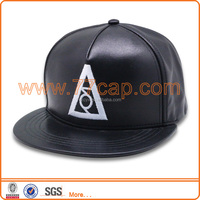 2016 winter PU Leather Baseball Cap Biker Trucker outdoor Sports snapback Hats For Men women hats and caps wholesale