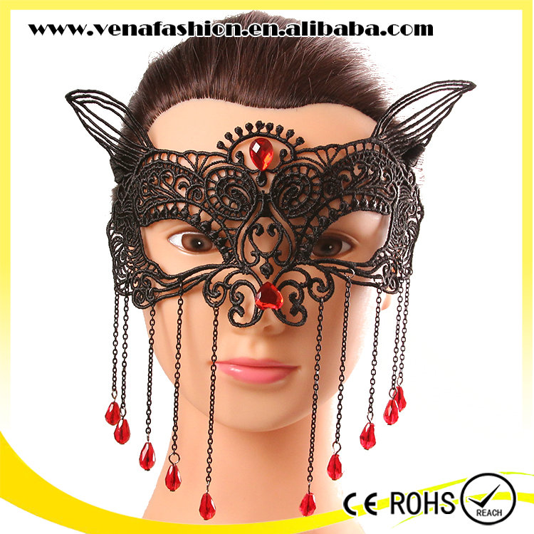fox disposable face mask for dance, party face mask