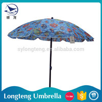 China Manufacturer OEM and ODM Sun protection Garden portable folding beach umbrella