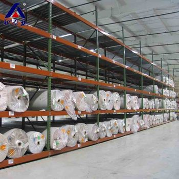 Widely Used Fabric Roll Storage Shelving Rack