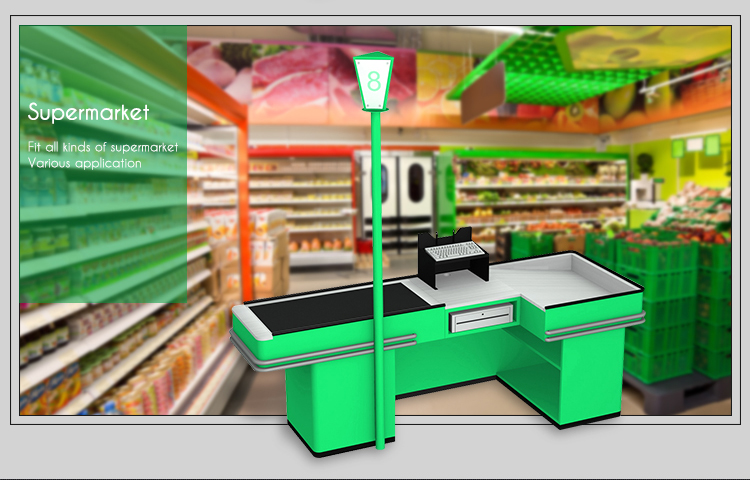 different design plastic PVC Checkout Counter Lane Divider Register Table Next Customer Bar Divider for cashier desk