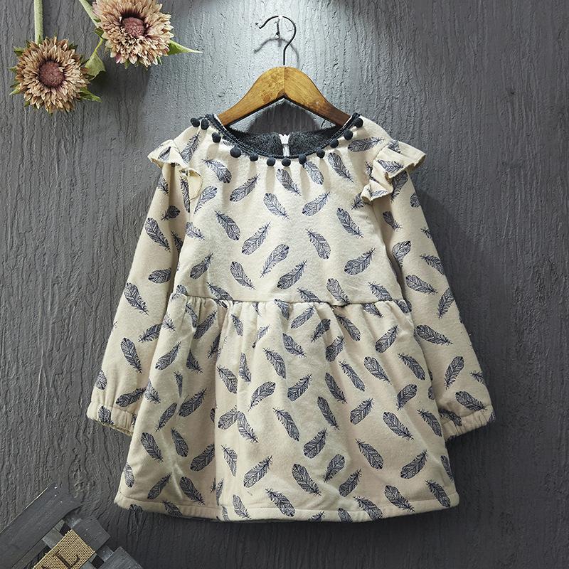 559c1748b3 Último estilo para niños niñas de invierno gruesa de manga larga de algodón  de una pieza
