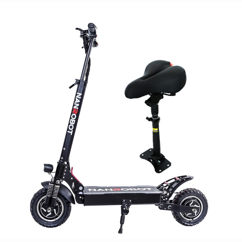 NANROBOT D4 1000w 2000W 2 wheel lithium powerful foldable climbing electric scooter
