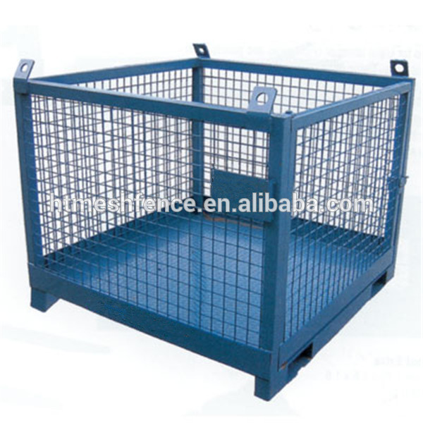 Wire Mesh Cage | Metal Steel Butterfly Container Cage Foldable Warehouse Butterfly
