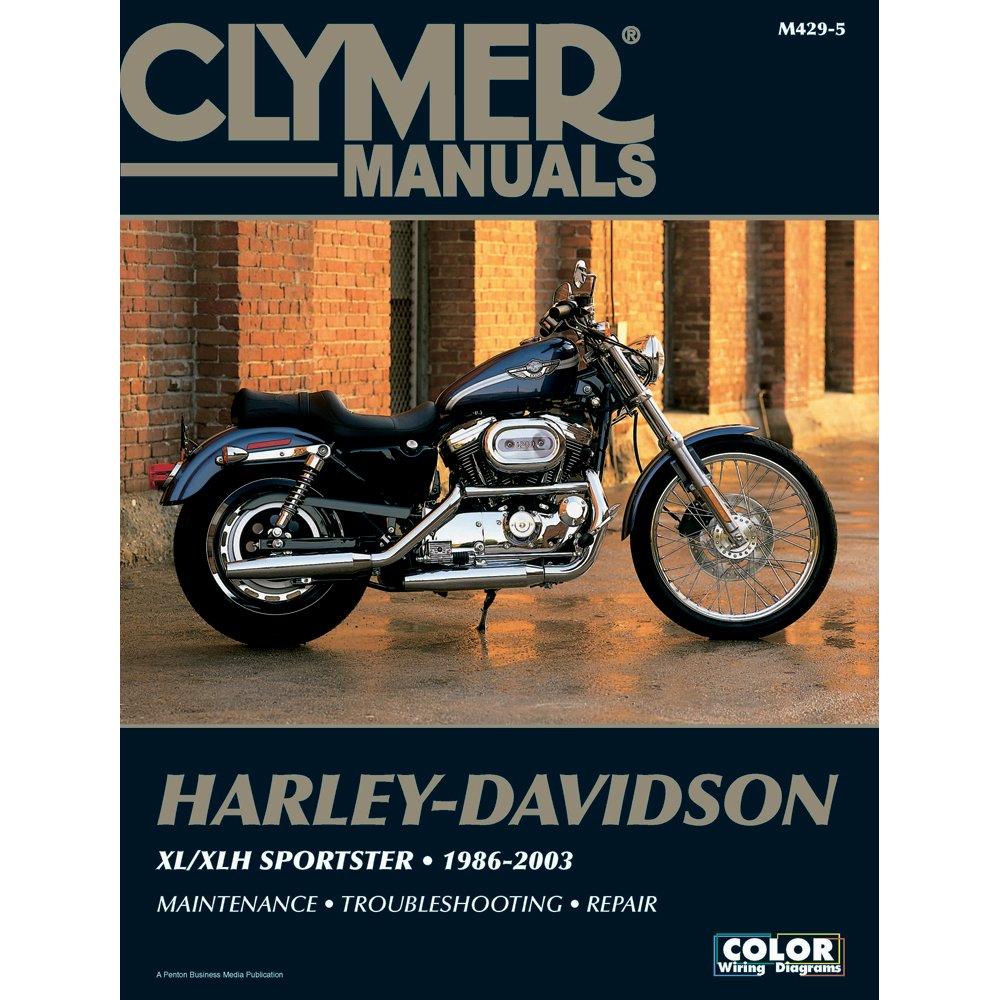 Get Quotations · Clymer Harley-Davidson XL/XLH Sportster (1986-2003)