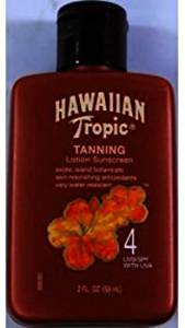 Hawaiian Tropic Tanning Lotion Sunscreen SPF4 (Case of 48)