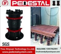 XY-M series adjustable plastic deck support raised access floor pedestal