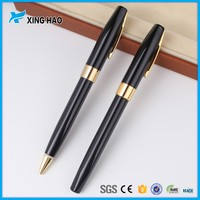 Wholesale high quality fine writing ball pen writing fluently promotional metal ball pens