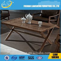 modern wooden coffee table for sale TE06-A11