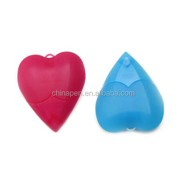 promotion item pen heart shaped Rain bow highlighter marker pens