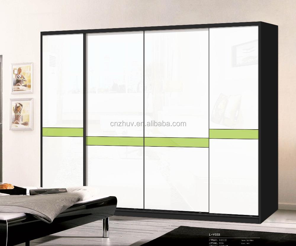 Armario armario montaje de vidrio dormitorio armario - Puertas correderas vidrio ...