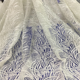 Latest Embroidery Designs French Beads Tulle Lace for Wedding Dress