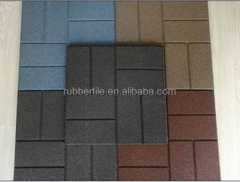 Rubber Paver For Driveway And Patio