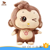 lovely cartoon plush monkey toy good quality stuffed monkey toy factory