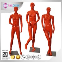 Colored mannequin high quality fashion egg head mannequin