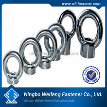 din580 stainless steel eye bolt and nut Steel/ stainless made in china manufacturers & suppliers & exporters