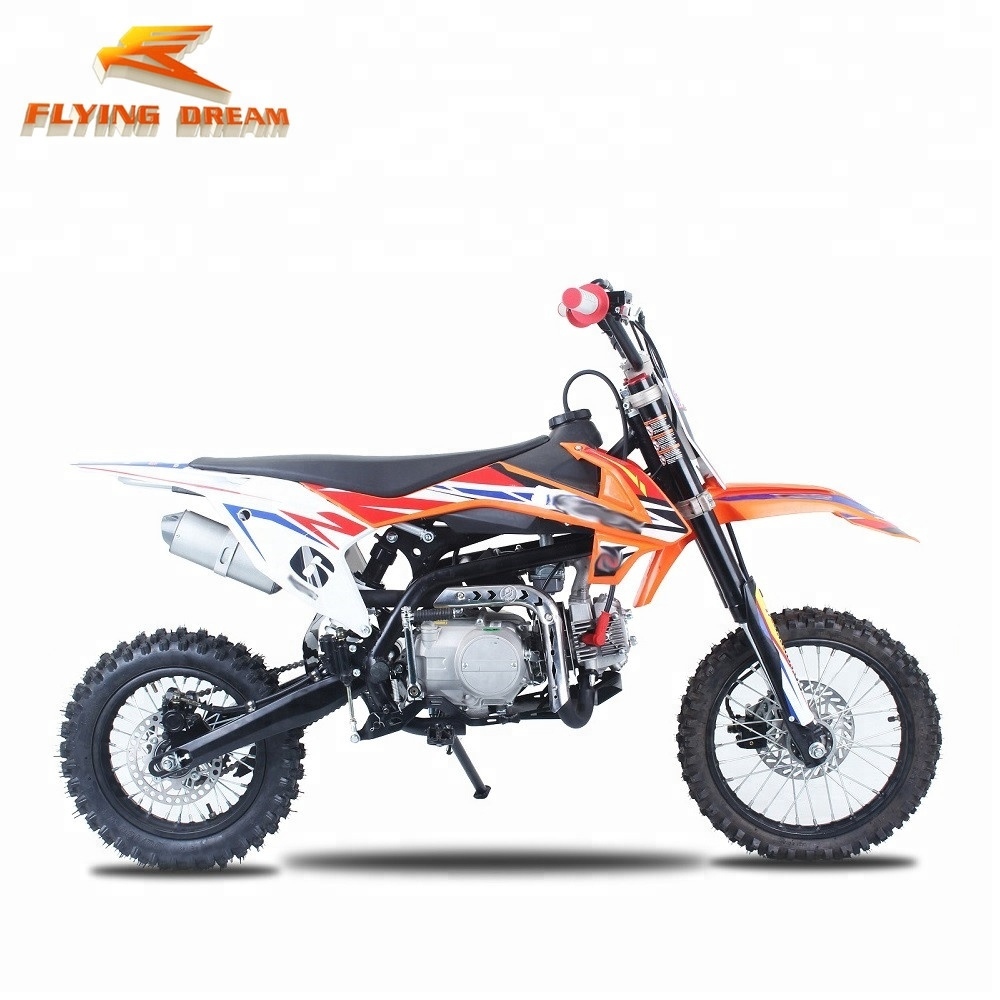 Nieuw model pit dirt bike 120cc 124cc 125cc motor off-road superfiets