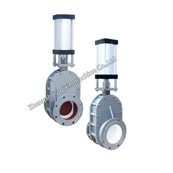 Pneumatic double diaphragm ceramic gate valves for fly ash system pneumatic double diaphragm ceramic gate valves for fly ash system ccuart Gallery